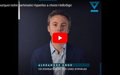 Hyperlex s'associe à Hellosign, la solution de signature électronique de Dropbox, pour le lancement de son offre ISV en Europe