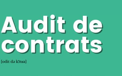 [Définition] Audit de contrats