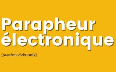 [Définition] Parapheur électronique