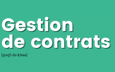 [Définition] Gestion de contrats