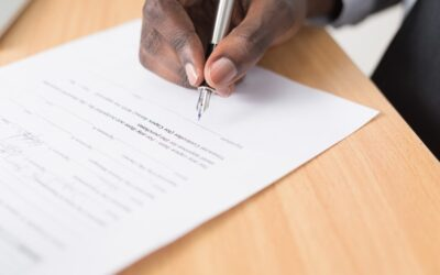 Handwriting detection in contract management