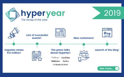 HyperYear 2019 : Le récap de l'année chez Hyperlex !