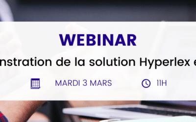 Démonstration live d'Hyperlex : découvrez le logiciel en action !