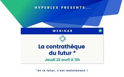 👨💻 Webinar : découvrez la contrathèque intelligente d'Hyperlex
