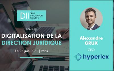 Hyperlex anime une formation à la digitalisation juridique le 25 juin prochain
