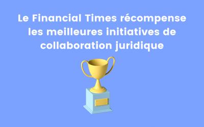Un prix pour récompenser la collaboration juridique