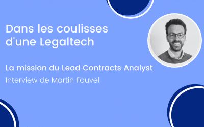 Les coulisses d'une Legaltech : le Lead Contracts Analyst